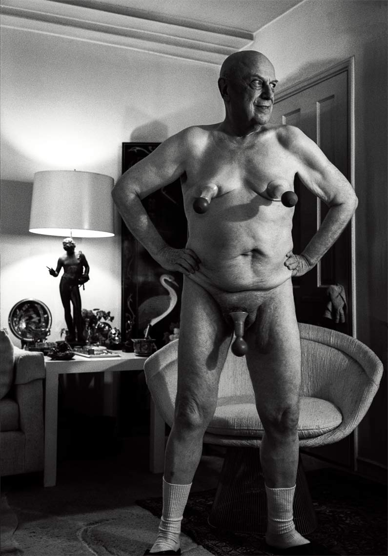 David Lebe; Ellis 2, 1989, male nude, black and white photograph