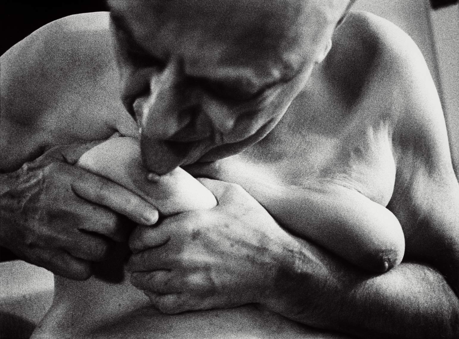 David Lebe; Ellis 4, 1989, male nude, black and white photograph