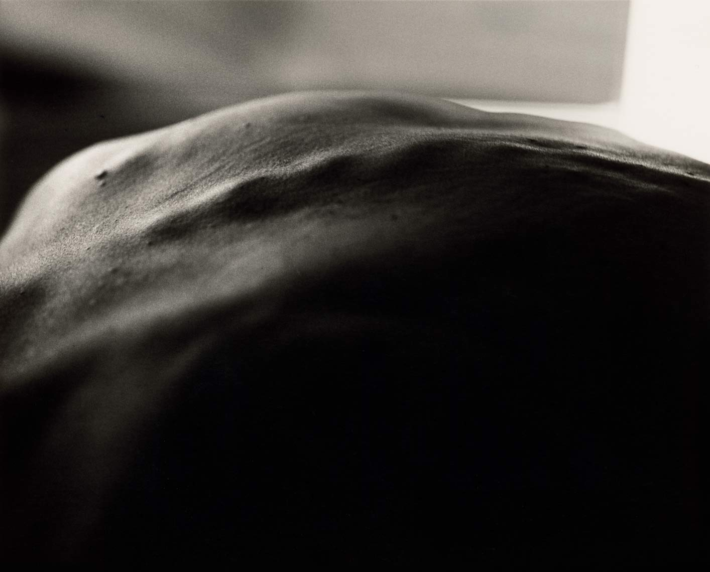 David Lebe; Morning Ritual 16, 1994, black and white photograph about living with AIDS