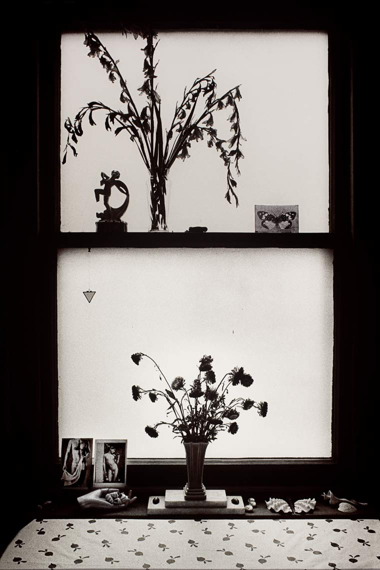 David Lebe; My Window, 1982, black and white photograph