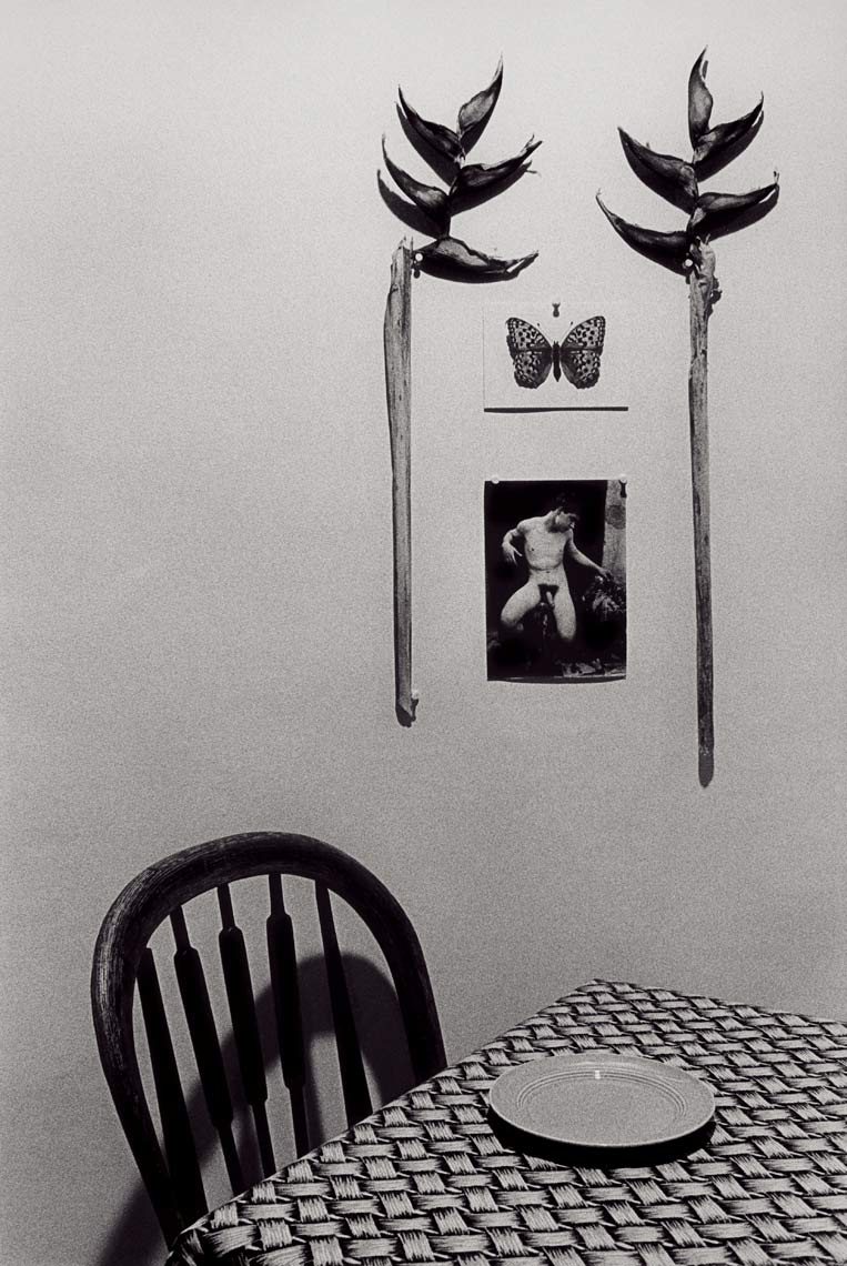 The Empty Plate. 1982, black and white photograph